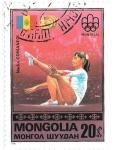 Sellos de Asia - Mongolia -  Nadia Comaneci