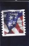 Sellos de America - Estados Unidos -  BANDERA ESTADOUNIDENSE