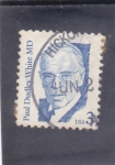 Stamps United States -  PAUL DUDLEY WHITE- cardiologo