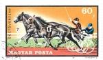Sellos de Europa - Hungría -  carreras de caballos 1