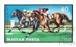 Sellos de Europa - Hungría -  carreras de caballos 2