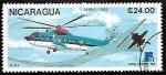 Sellos del Mundo : America : Nicaragua : Helicópteros - S-61