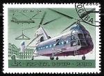 Sellos del Mundo : Europa : Rusia : Aviones - Yak-24