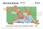 Sellos de America - Nicaragua -  béisbol