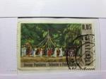 Stamps America - Venezuela -  Danzas Populares  Sebucan o Palo de Cintas