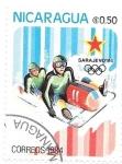 Stamps : America : Nicaragua :  bobsleigh