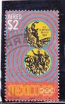 Stamps : America : Mexico :  OLIMPIADA MEXICO-68