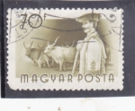 Stamps Hungary -  OFICIOS- GANADERO