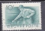 Stamps Hungary -  OFICIOS- PESCADOR
