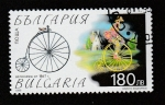 Sellos del Mundo : Europa : Bulgaria : Modelos de bicicletas