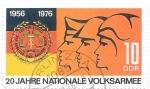 Sellos de Europa - Alemania -  ejercito DDR