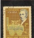 Sellos de Europa - Hungría -  GEORGE.STEPHENSON-ingeniero civil