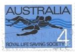 Sellos de Oceania - Australia -  salvavidas