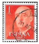 Stamps Spain -  Edif 1153 - Francisco Franco Bahamonde