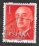 Sellos de Europa - España -  Edf 1153 - Francisco Franco Bahamonde