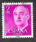 Sellos de Europa - España -  Edif 1158 - Francisco Franco Bahamonde