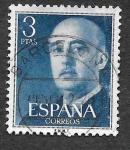 Stamps Spain -  Edif 1159 - Francisco Franco Bahamonde