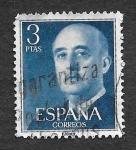 Sellos de Europa - España -  Edif 1159 - Francisco Franco Bahamonde