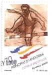 Stamps : Europe : Andorra :  Sydney 2000