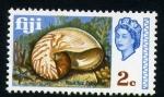 Stamps Oceania - Fiji -  nautilus