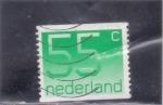 Stamps Netherlands -  CIFRAS