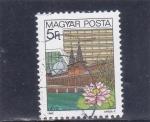 Stamps Hungary -  CIUDAD DE HEVIZ