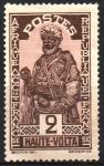 Stamps Burkina Faso -  JEFE  HAUSA