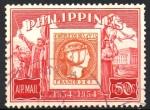 Sellos del Mundo : Asia : Filipinas : PRIMER  SELLO  DE  FILIPINAS,  DESEMBARCO  DE  MAGALLANES  Y  ESCENA  DE  MANILA