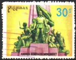 Sellos del Mundo : Asia : Filipinas : MONUMENTO  DE  ANDRÉS  BONIFACIO.  ELABORADO  POR  GUILLERMO  TOLENTINO