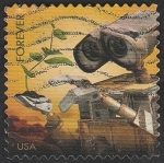 Stamps : America : United_States :  4412 - Wall-E