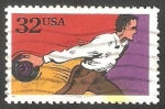 Stamps : America : United_States :  2350 - Bowling
