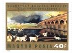Sellos de Europa - Hungría -  cuadro de vacas
