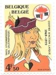 Sellos del Mundo : Europa : Bélgica : juglar