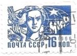 Sellos del Mundo : Europa : Rusia : alegoría