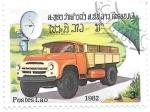 Sellos de Asia - Laos -  camión