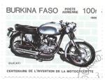 sello : Africa : Burkina_Faso : Ducati