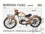 sello : Africa : Burkina_Faso : Manet