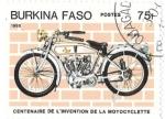 Sellos de Africa - Burkina Faso -  Pope