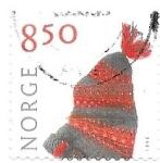 Sellos de Europa - Noruega -  artesanía noruega