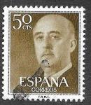Stamps Spain -  Edf 1149 - Francisco Franco Bahamonde