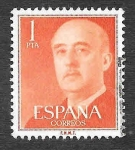 Stamps Spain -  Edf 1153 - Francisco Franco Bahamonde