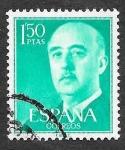 Sellos de Europa - España -  Edf 1155 - Francisco Franco Bahamonde