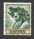 Stamps Spain -  Edf 1500 - José Ribera