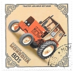 Stamps : Asia : Mongolia :  tractor agricola