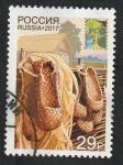 Stamps : Europe : Russia :  7802 - Artesania nacional