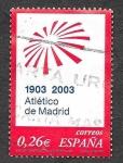 Stamps Spain -  Edf 3983 - Centenario del Club Atlético de Madrid