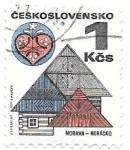 Sellos de Europa - Checoslovaquia -  casas