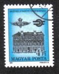 Stamps Hungary -  Centenario del Instituto de Capacitación de Funcionarios Ferroviarios
