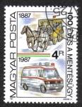 Sellos de Europa - Hungría -  Centenario de la Asociación de Primeros Auxilios de Hungría