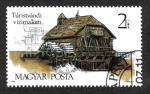 Sellos de Europa - Hungría -  Antiguo molino de agua, Túristvándi